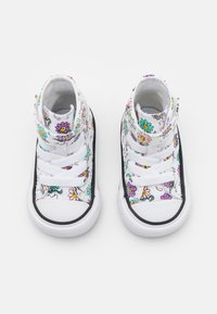 Converse - CHUCK TAYLOR ALL STAR PLAYFUL PETALS - Sneakers alte - white/pixel purple/electric aqua - 3