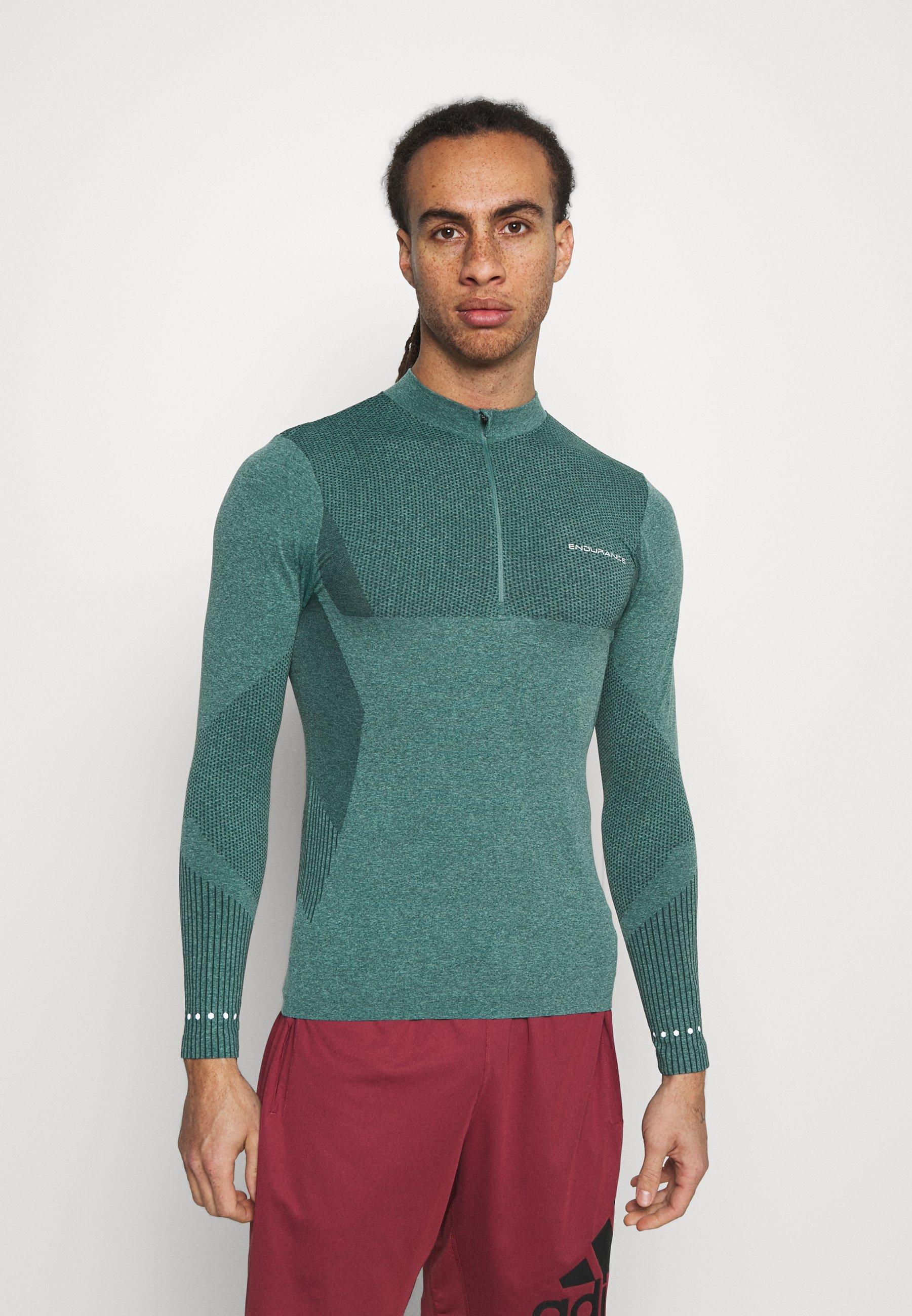 Men JARO SEAMLESS MIDLAYER - Long sleeved top