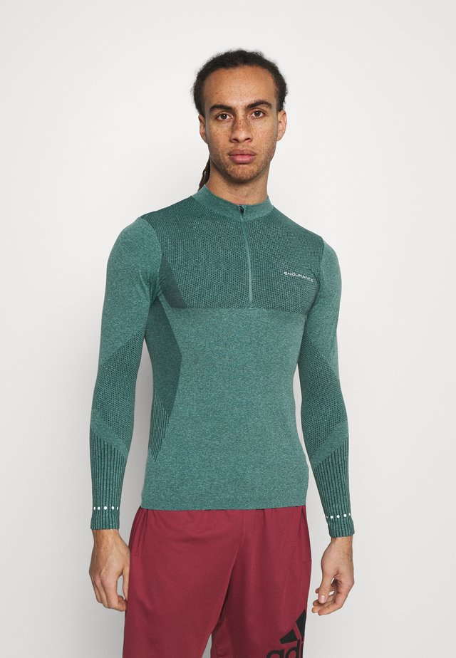 JARO SEAMLESS MIDLAYER - Langærmede T-shirts - ponderosa pine