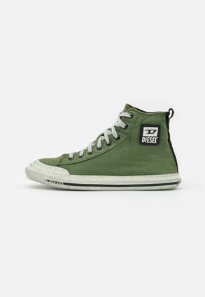 S-ASTICO MID CUT - High-top trainers - olive