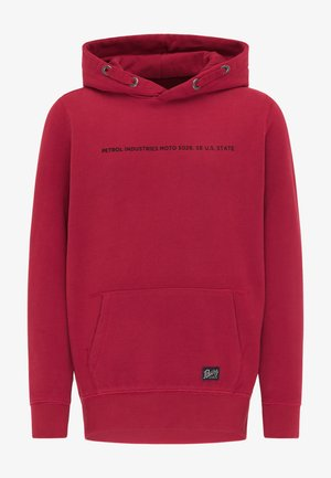 Hoodie - fire red