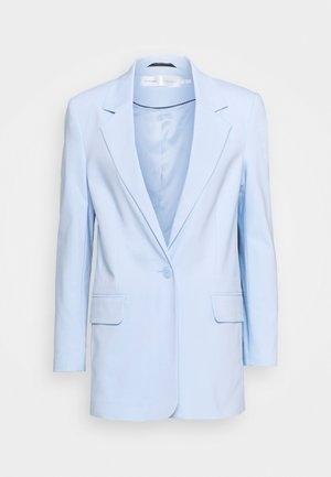 ZELLAIW LONG  - Kort kåpe / frakk - bleached blue