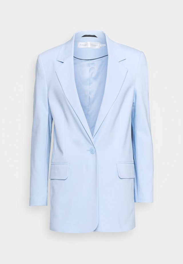 ZELLAIW LONG  - Short coat - bleached blue