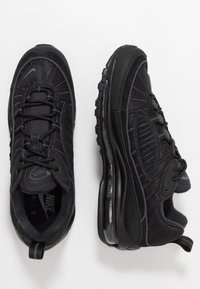 Nike Sportswear - AIR MAX 98 - Sneakersy niskie - black/anthracite - 1