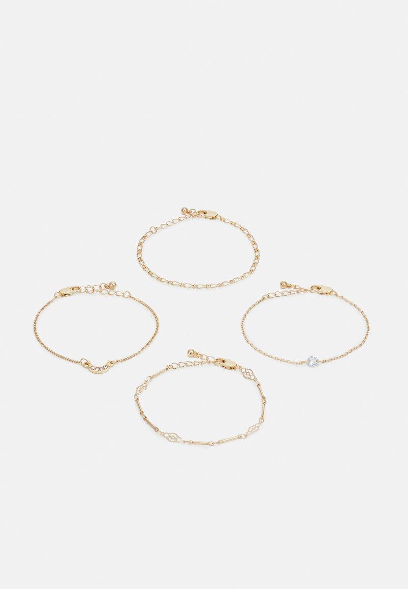 Pieces - PCMIMO BRACELET KEY 4 PACK - Bracelet - gold-coloured