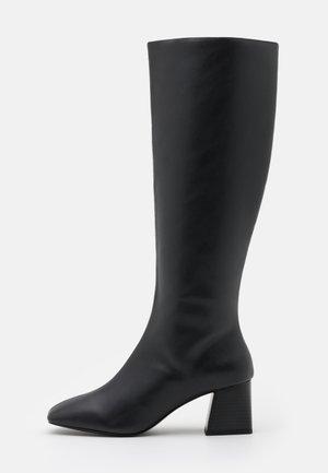 PATTIE BOOT VEGAN - Boots - black/beige