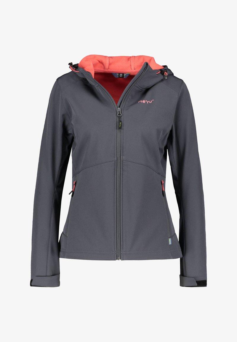 Meru - BREST - Soft shell jacket - dunkelgrau (229)