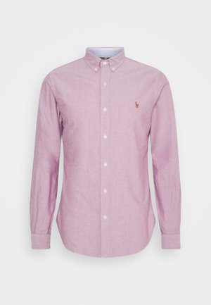 OXFORD SLIM FIT - Shirt - crimson