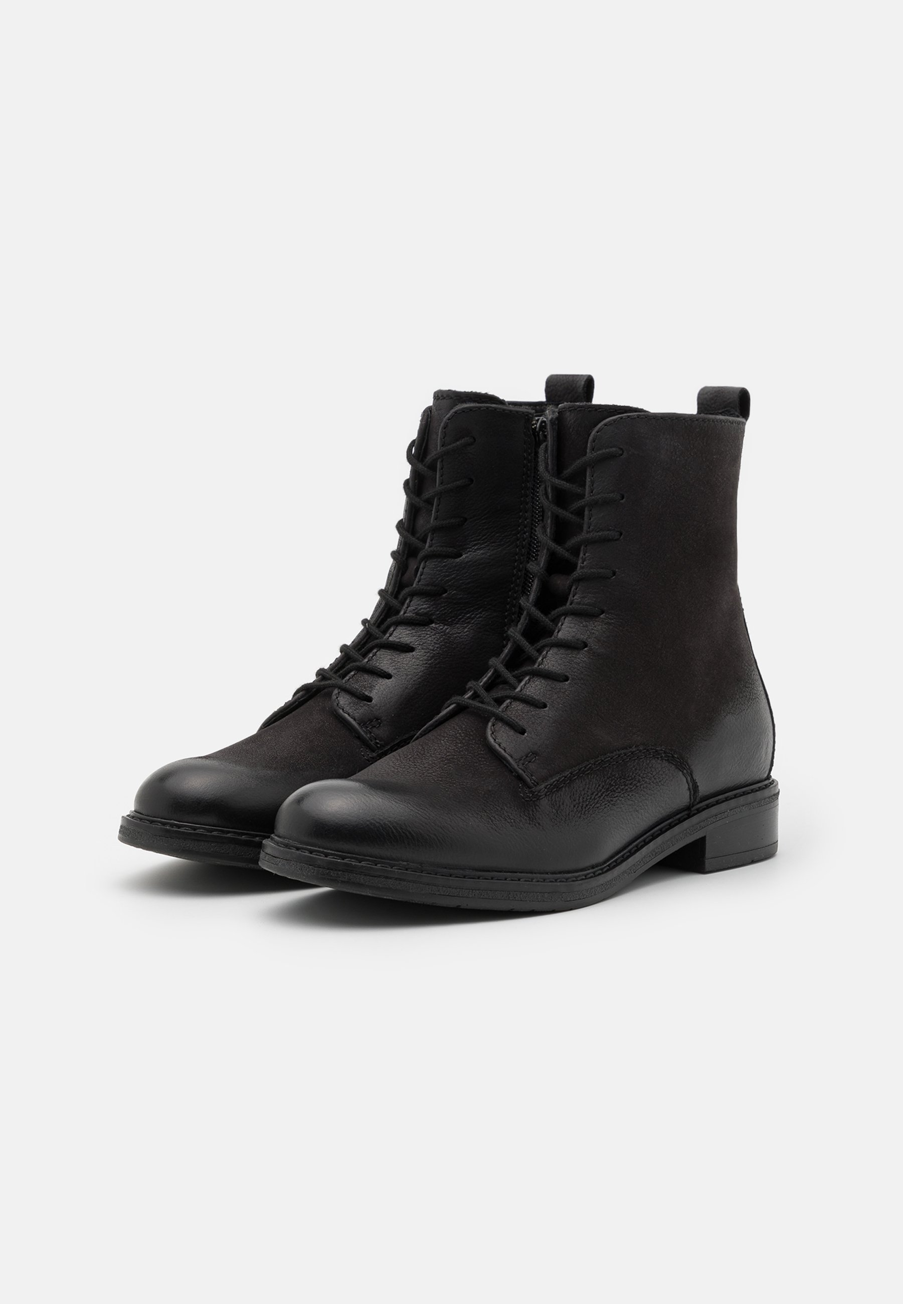 Women LEATHER - Lace-up ankle boots