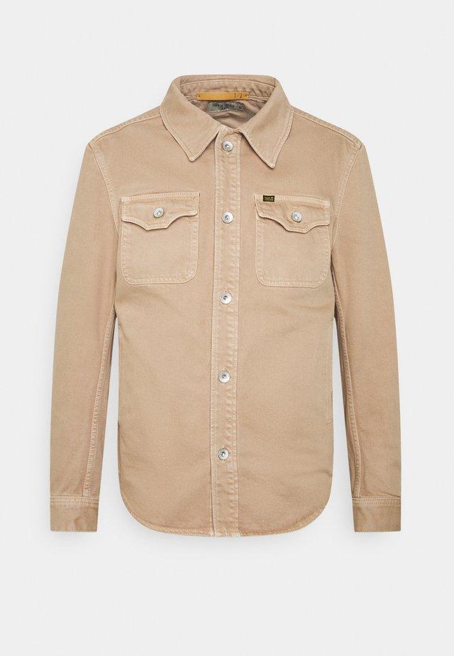 GET - Denim jacket - beige