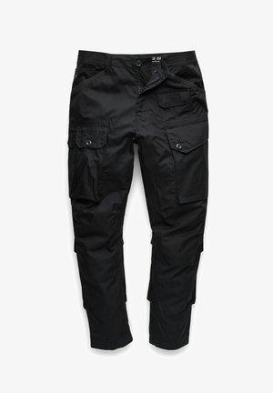JUNGLE  - Cargo trousers - dk black
