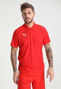 Puma - LIGA SIDELINE  - T-shirt de sport - red/white - 0