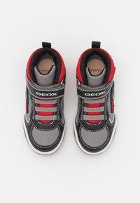 Geox - INEK BOY - High-top trainers - grey/red - 3