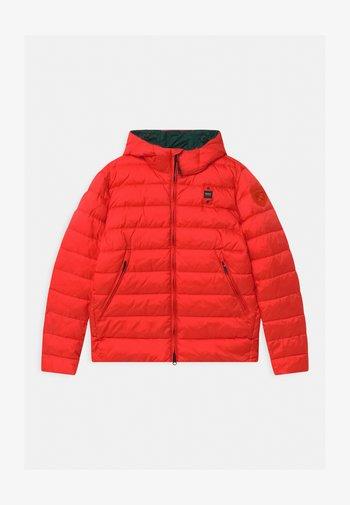 GIUBBINI CORTI IMBOTTITO OVATTA - Winter jacket - orange