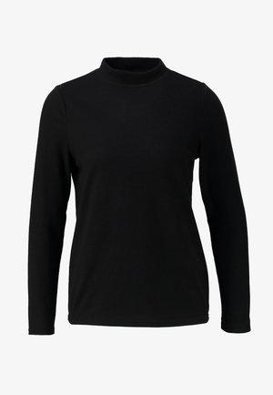 NMCITY HIGH NECK - Strikkegenser - black