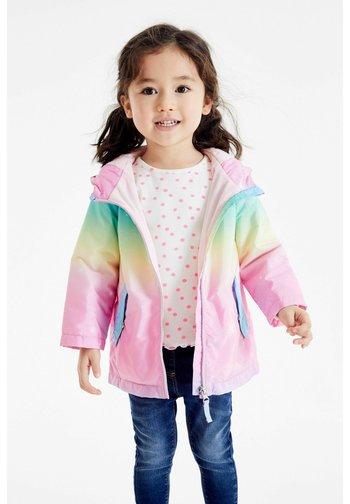 RAINBOW UNICORN C - Waterproof jacket - multi-coloured