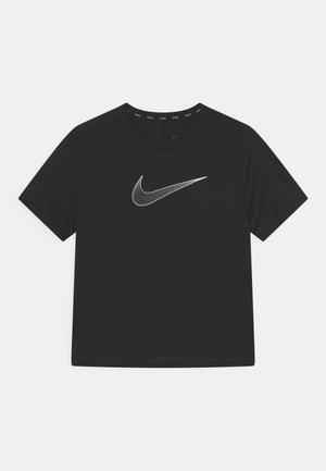 PLUS ONE - T-shirt imprimé - black/white