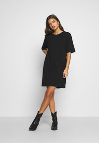 Even&Odd Petite - Day dress - black - 2