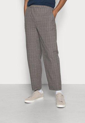 CHECK PANT - Kalhoty - grey