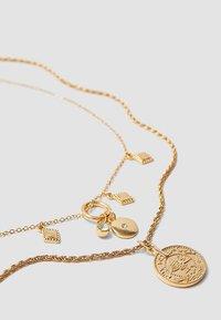 Stradivarius - 5 PACK - Necklace - gold-coloured - 3