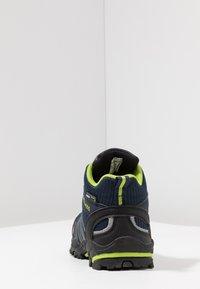 TrollKids - KIDS TROLLTUNGA MID UNISEX - Hiking shoes - navy/viper green - 4