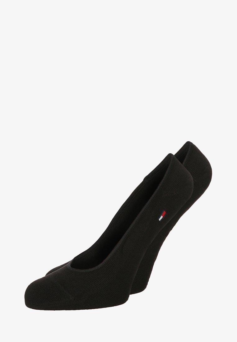 Tommy Hilfiger - 2 PACK - Trainer socks - black