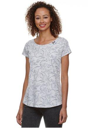 MAZIK - Print T-shirt - white