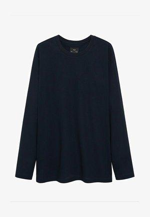 MIAMI - Långärmad tröja - marinblå