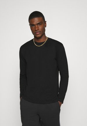 ONSLUIGI LIFE TEE - T-shirt à manches longues - black
