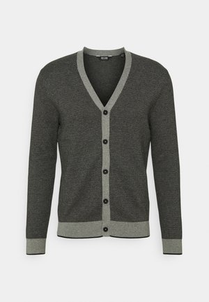 ONSWESLEY LIFE CARDIGAN - Chaqueta de punto - medium grey melange/black