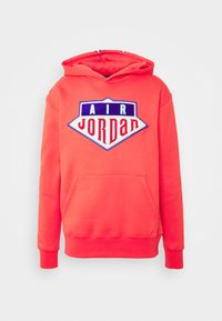 Jordan - HOODIE - Sweatshirt - track red/deep royal blue - 3