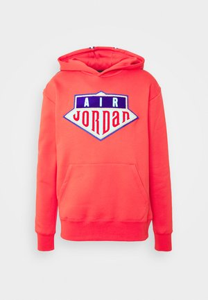 HOODIE - Felpa - track red/deep royal blue