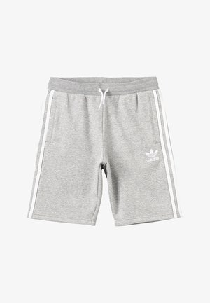 Short - medium grey heather/white
