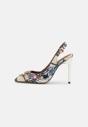 Klassiske pumps - white bright