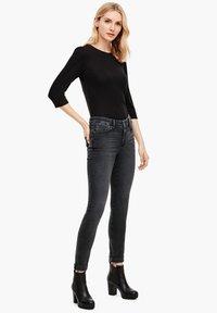 s.Oliver - Jeans Skinny Fit - grey sretc - 1