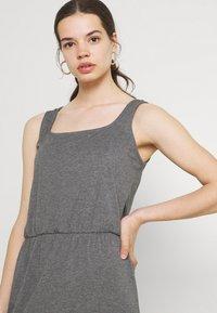 Vero Moda - VMADAREBECCA ANKLE DRESS - Maxi dress - medium grey melange - 3