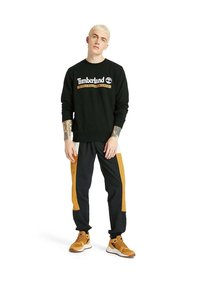 Timberland - Outdoor trousers - black white sand wheat - 1