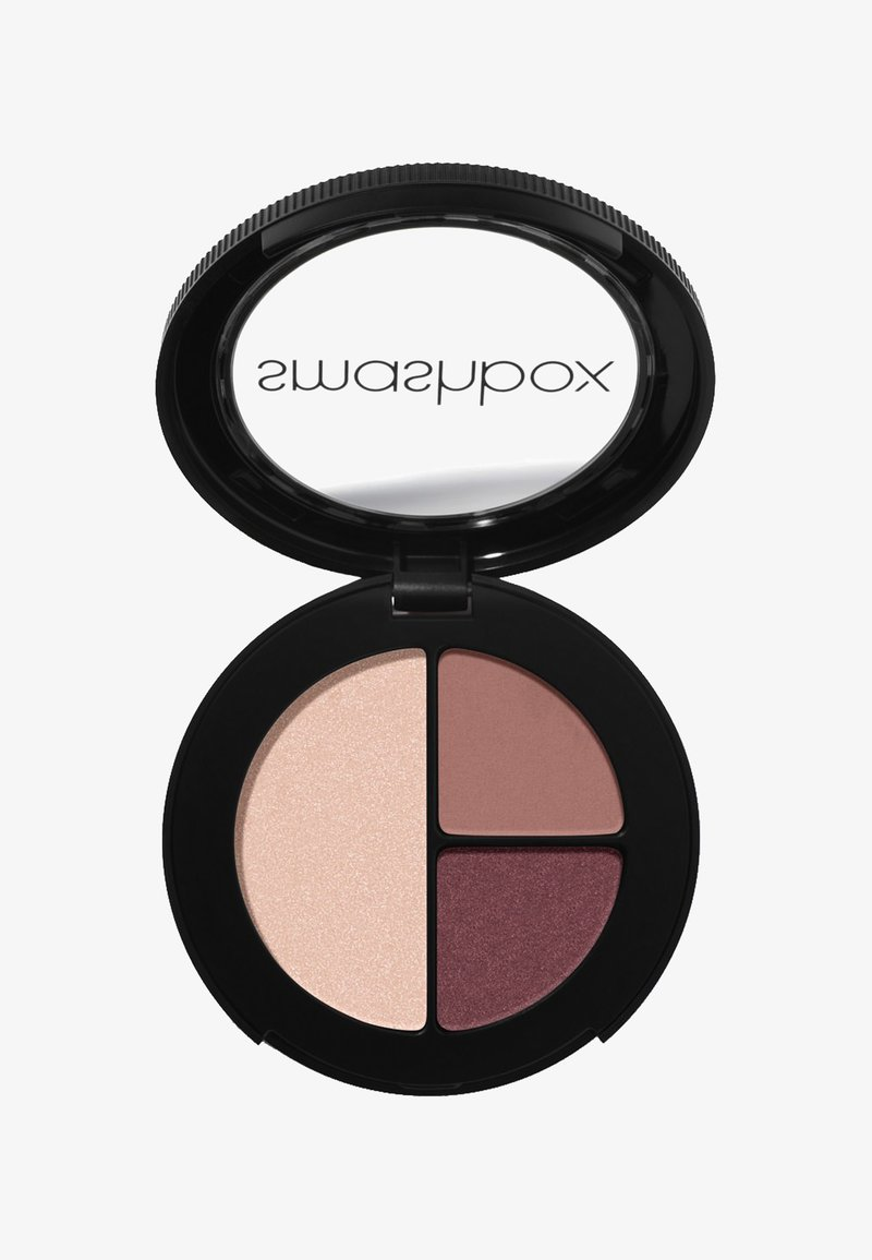 Smashbox - PHOTO EDIT EYE SHADOW TRIO 3,2 G - Eyeshadow palette - 73444b, a4736c, e7c3b5 snap queen