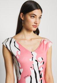 Just Cavalli - Pouzdrové šaty - pink variant - 3