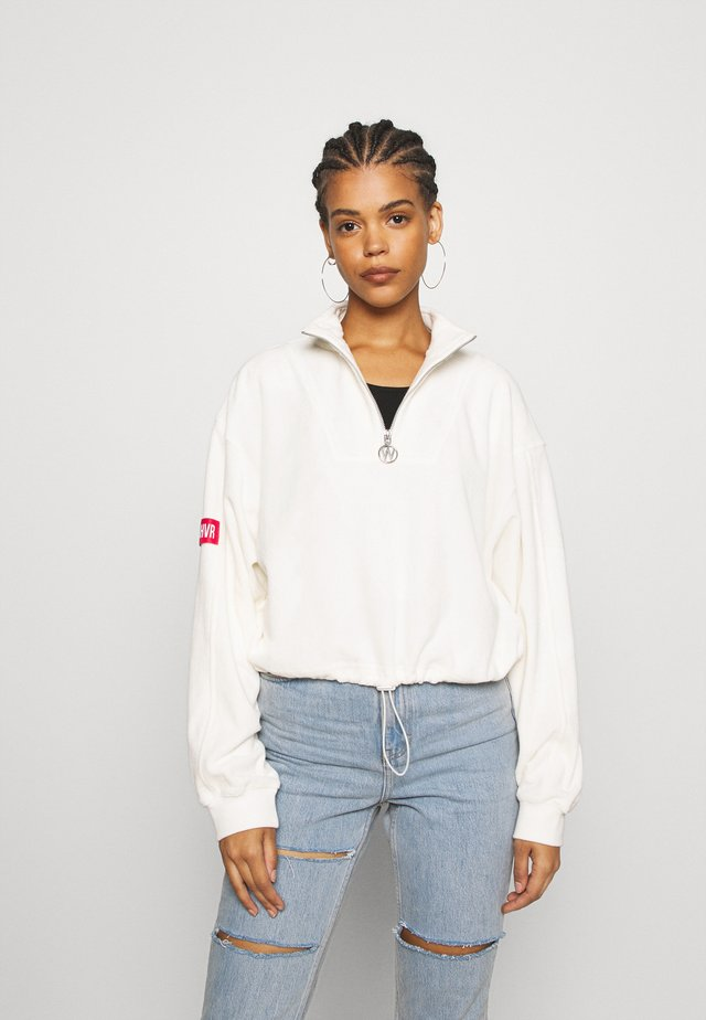 HOPE WOMEN - Fleece jumper - offwhite