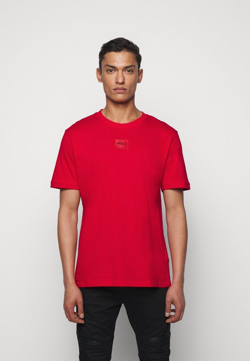 HUGO - DIRAGOLINO - Basic T-shirt - open pink