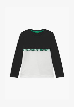 BASIC BOY - Long sleeved top - black/white