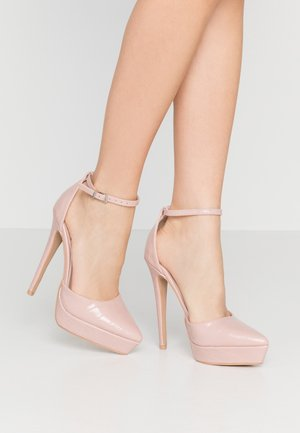 MARLENE - Zapatos altos - blush