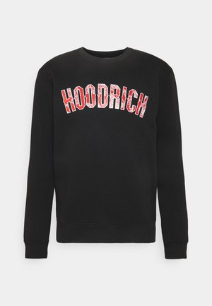 PAISLEY PATTERN INFILL - Sweatshirt - black/red