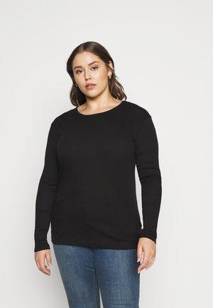 KCRINA - Long sleeved top - black deep