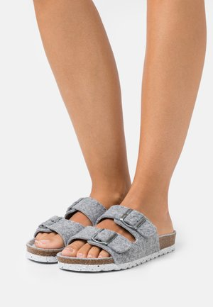 VMCOZY  - Tofflor & inneskor - medium grey melange