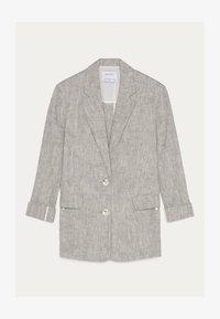 Bershka - Short coat - light grey - 5