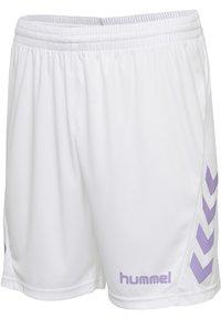 Hummel - DUO SET - Sports shorts - paisley purple/white - 7