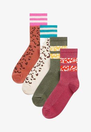 4 PACK - Socks - olive