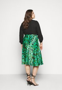 Simply Be - MIDI SKIRT - A-line skirt - green - 2